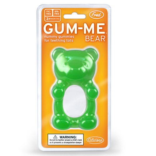 Fred & Friends | Gum Me 熊寶貝嬰孩咬咬樂