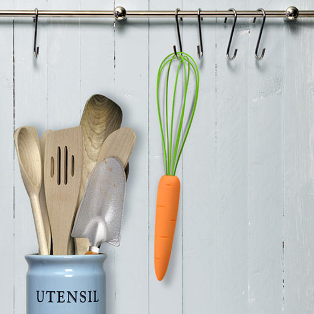Fred & Friends Carrot The Cooks Carrot Whisk 紅蘿蔔造型攪拌器