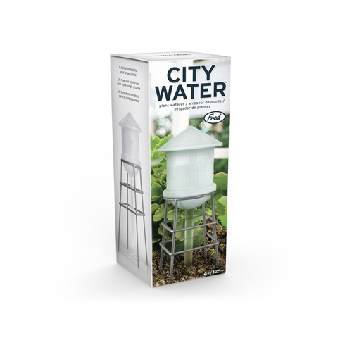 Fred & Friends | City Water盆栽供水小水塔