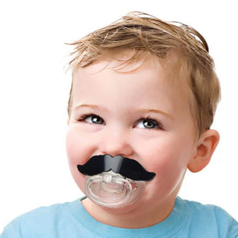 Fred & Friends|CHILL,BABY 鬍子造型嬰兒奶嘴