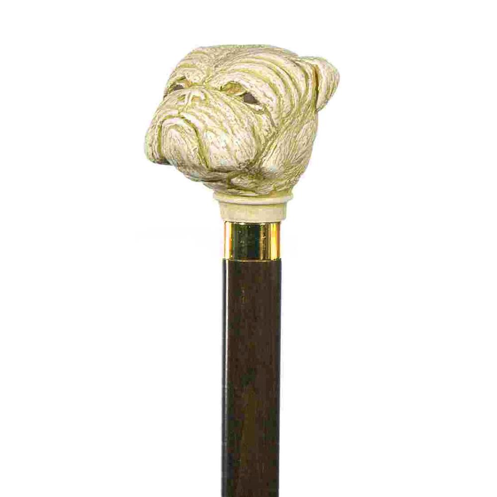 英國Classic Canes│鬥牛犬造型權杖- 4016C