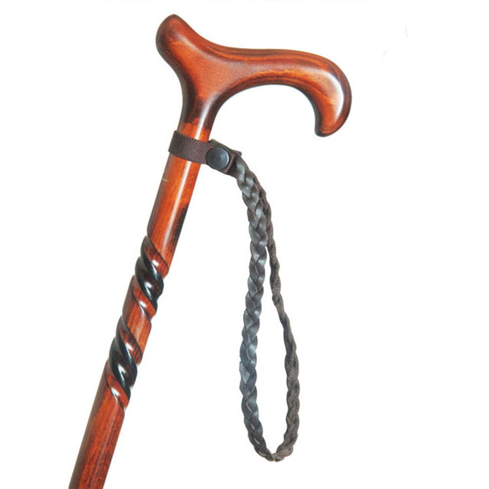 英國Classic Canes|手腕環扣繩 - 皮革編織