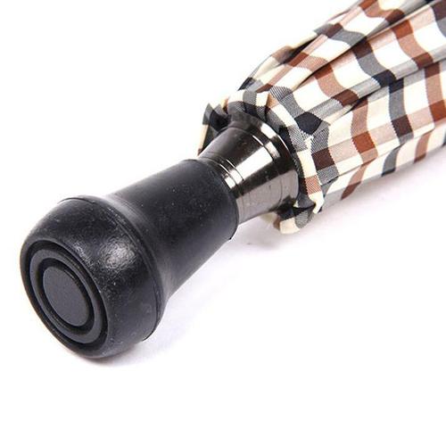 英國Classic Canes│造型木紋把手格子傘 - 4716A