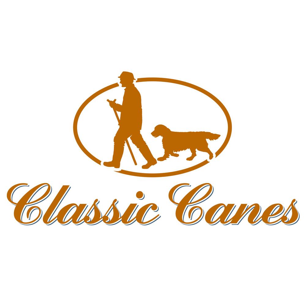 英國Classic Canes 造型木紋把手格子傘 - 4716B