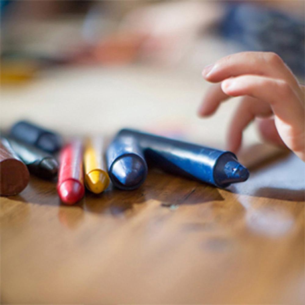 紐西蘭Honey Sticks Crayons|純天然蜂蠟無毒蠟筆 (胖長款)