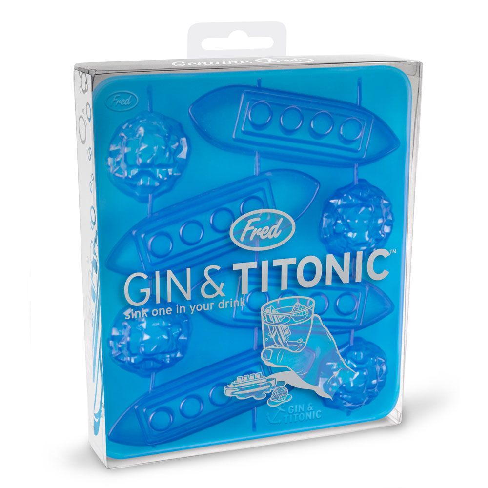 Fred & Friends|Gin & Titonic 沉船鐵達尼製冰盒