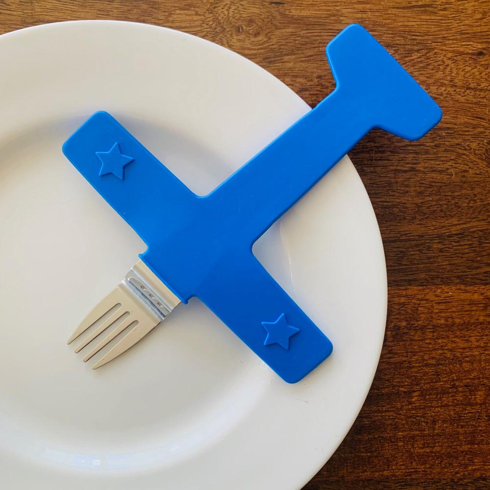 Fred & Friends Airfork One 兒童專用造型叉
