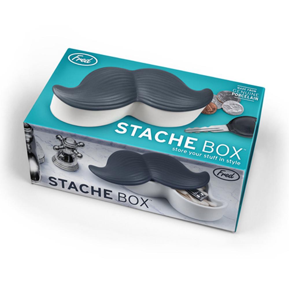 Fred & Friends|STACHE BOX 鬍子造型置物盒