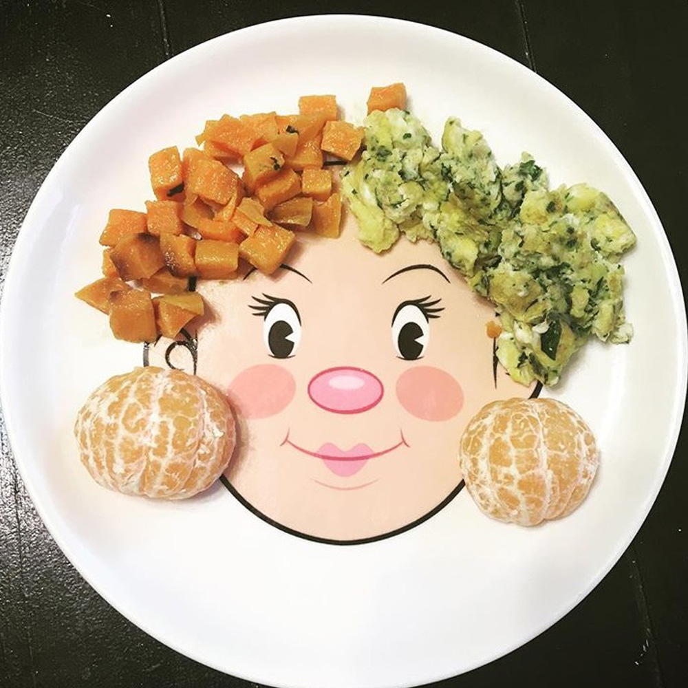 Fred & Friends Food Face 臉盤食物大妝扮 (女臉)