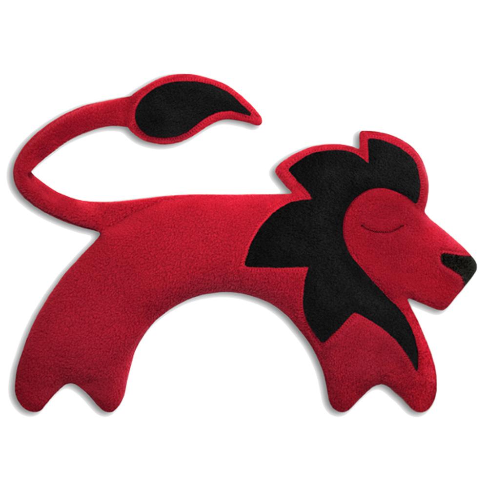 德國萊思綺Leschi|舒緩肩頸 熱敷/冷敷袋(獅子造型-火紅色)