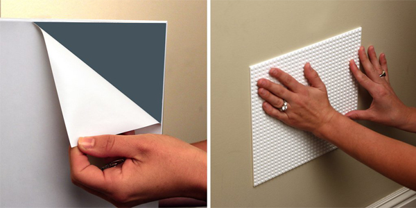 美國 BRIK 自黏式積木牆片組 (2片裝)