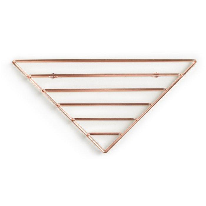 Umbra | 幾何書架-紅銅色