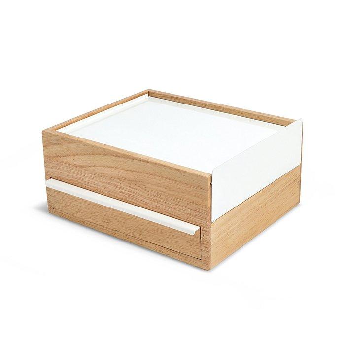 (複製)Umbra | 木質飾品收納盒-原木色-小