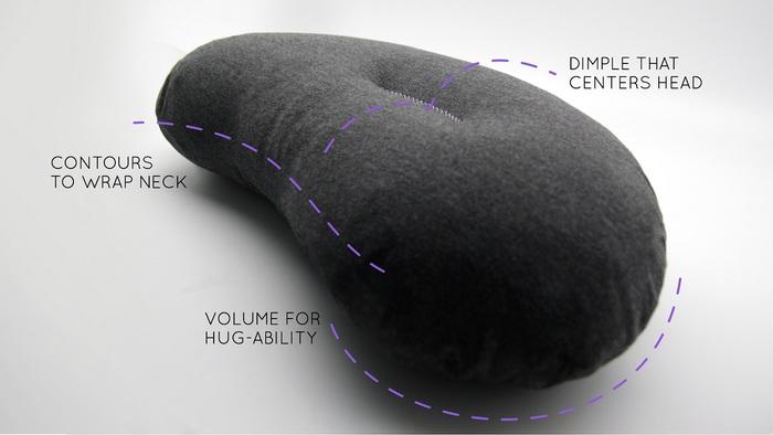 【集購】全台獨賣 Aubergine Pillow | 瞬間膨脹易攜式茄子枕