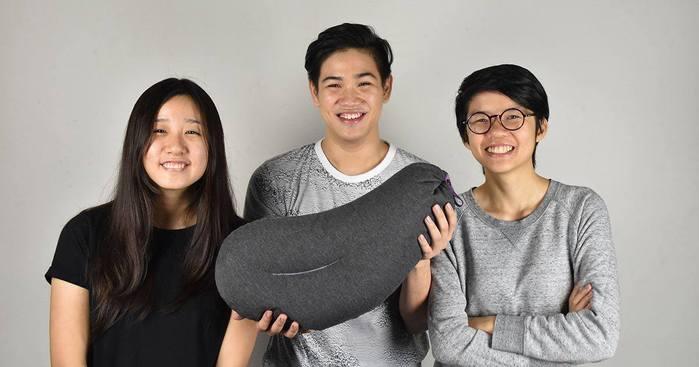【集購】熱銷加碼! 全台獨賣 Aubergine Pillow | 第二代攜式充氣旅行茄子枕