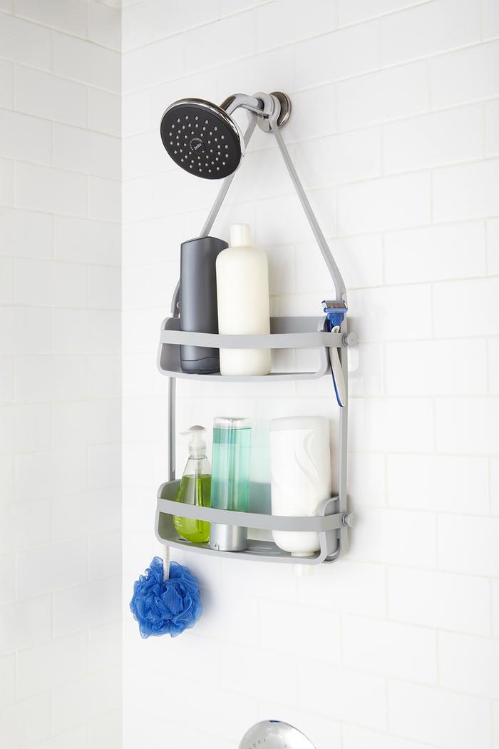 Umbra | FLEX 浴室雙層收納掛架 灰