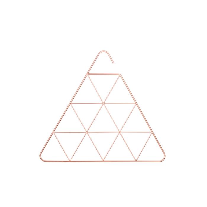Umbra | PENDANT 幾何三角圍巾架 玫瑰金