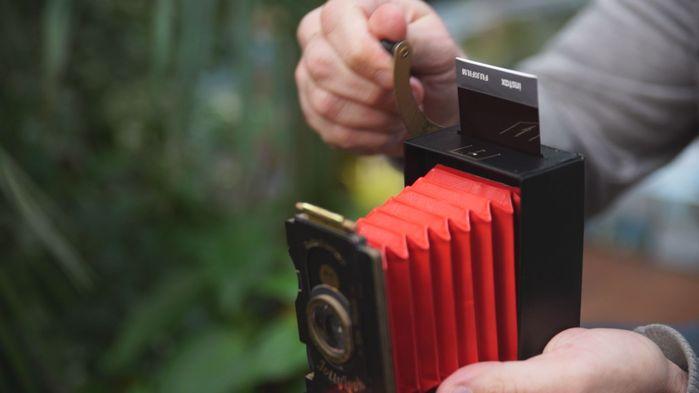 【集購】烏克蘭 Jollylook | 免電 手搖式復古拍立得相機