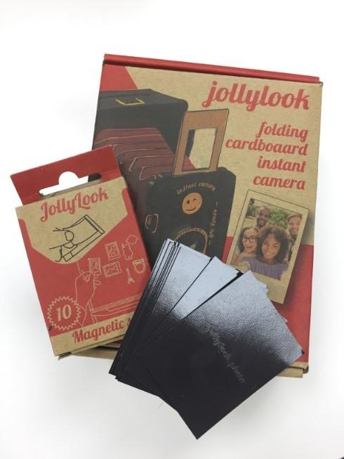 【集購】豪華配件組-烏克蘭 Jollylook | 免電 手搖式復古拍立得相機
