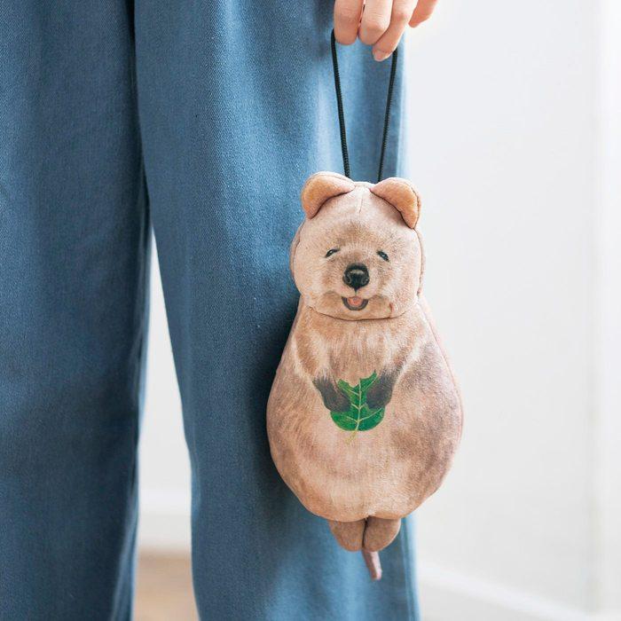 Felissimo | YOU+MORE!短尾矮袋鼠收納袋