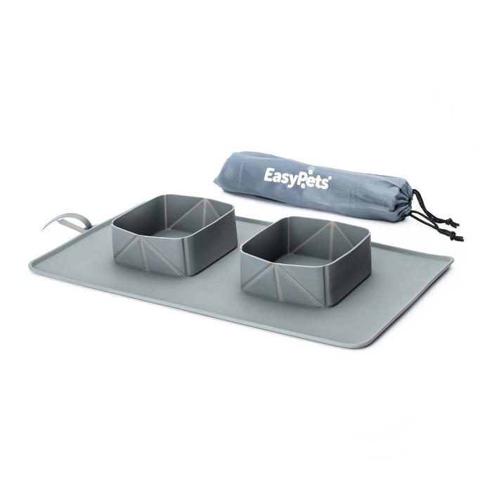 【集購】英國EASYPETS | Roll 'N' Go 寵物攜帶型碗盤