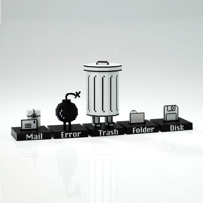 【預購】 Playsometoys | 垃圾桶與小伙伴公仔Trashbot & Friends