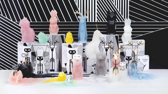 【預購】PyroPet | 動物骨架蠟燭-麋鹿DYRI