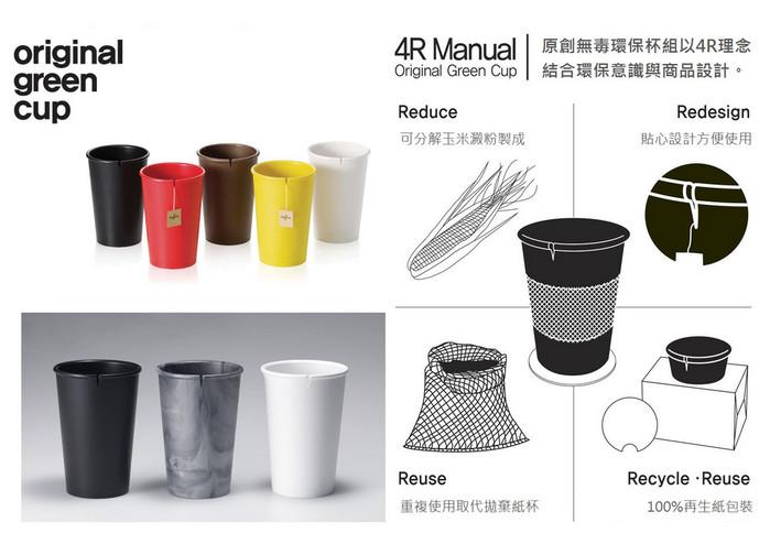 【集購】EcoJun | 原創無毒環保杯組-五入組