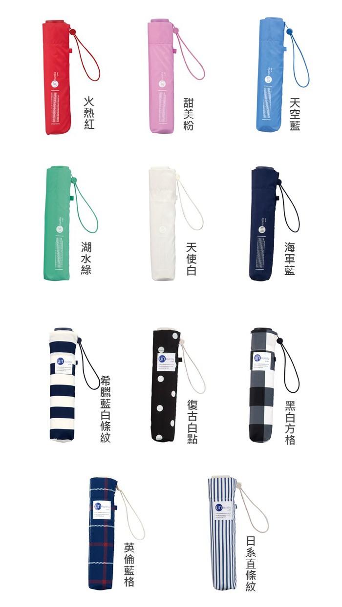 【集購】日本Unnurella | 不濕 抗UV 晴雨摺疊傘
