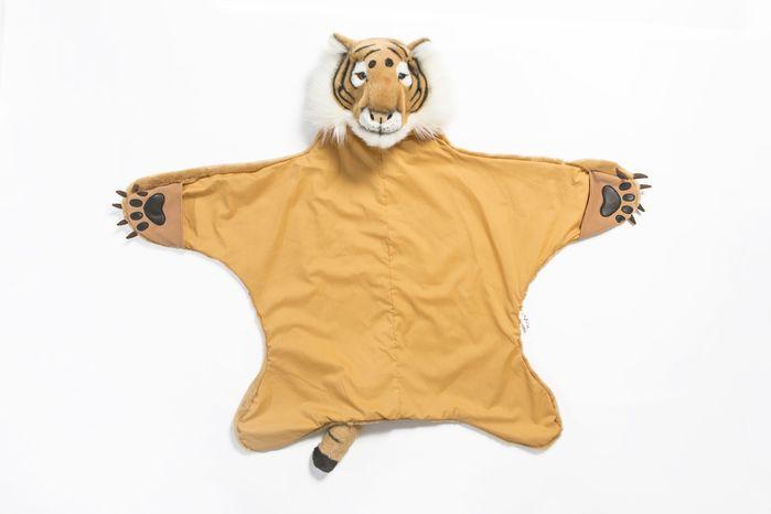 Wild & Soft | 動物造型披風-老虎