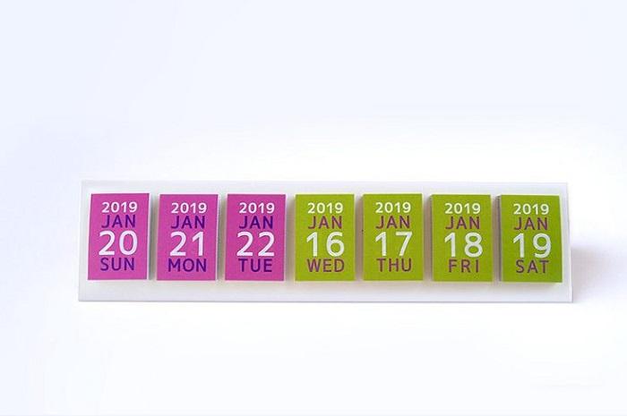 【集購】Be-on | 文青日曆貼紙-4款任選