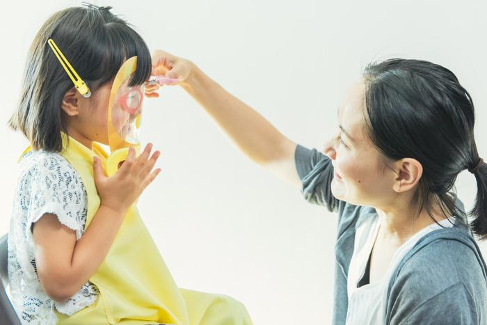 【集購】日本Papamamacut   全台首賣 小孩剪瀏海神器3入組(獅子、熊貓、變形金剛)