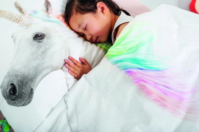 【集購】SNURK|夢幻公主系列-獨角獸之夢 枕套+被套組