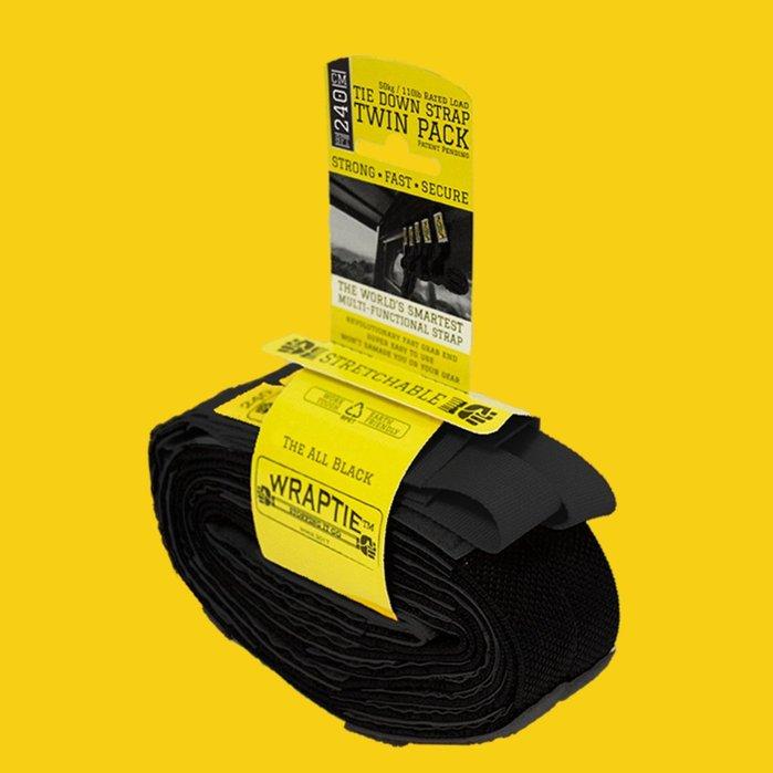 澳洲 WRAPTIE™ | 多用途可伸縮專利束帶 (240cm雙入組)
