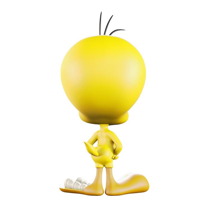 【集購】XXRAY PLUS | 原廠限定 Looney Tunes Tweety半剖授權公仔 (8吋)