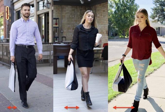 【集購】 日本 Origami Bag | 多國專利萬用自黏手提袋 (附贈一條自黏布)