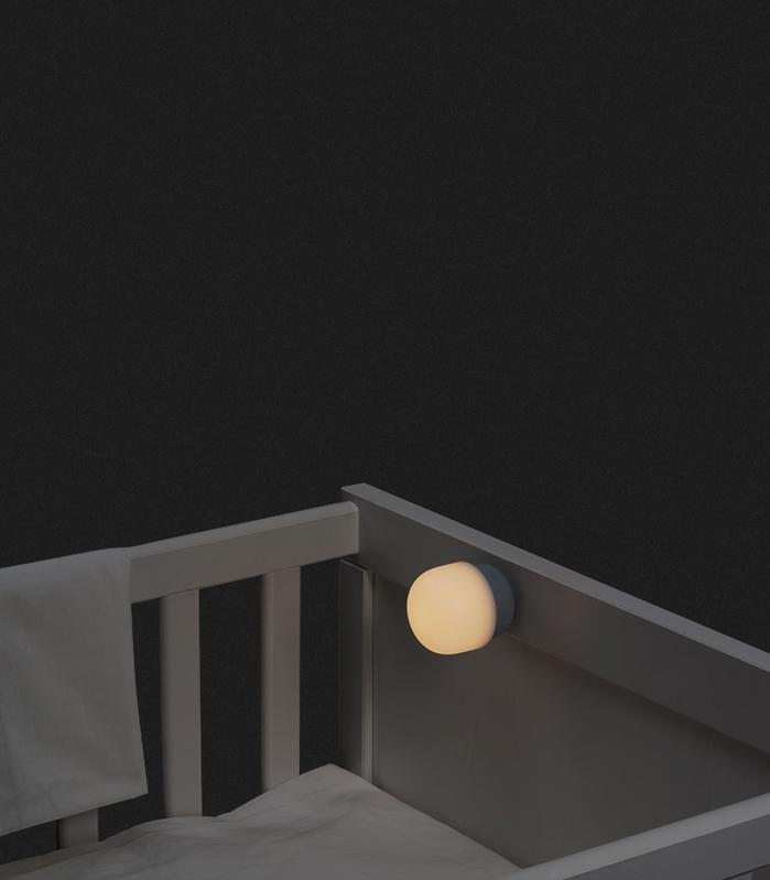 ZISION | 小蘑菇 兒童小夜燈 (彩色PC版三色可選)