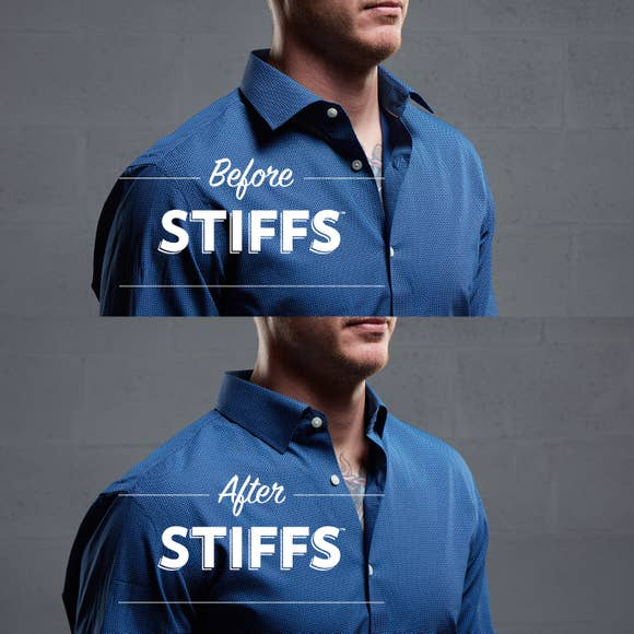 【集購】Wurkin Stiffs|不鏽鋼襯衫領撐片(組合款)