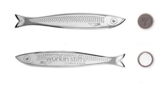Wurkin Stiffs|不鏽鋼襯衫領撐片(壽司款)