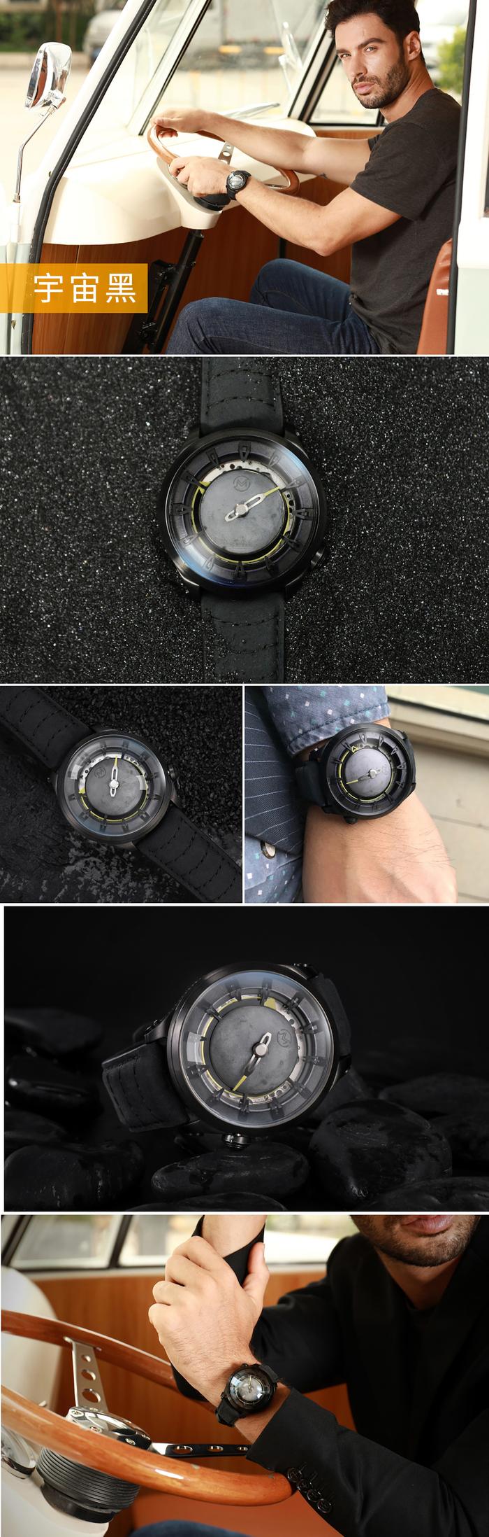 OVD|火星任務星球機械錶(四款任選)