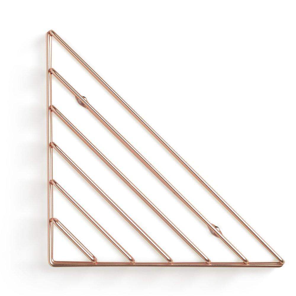 Umbra | STRUM 幾何書架 紅銅色