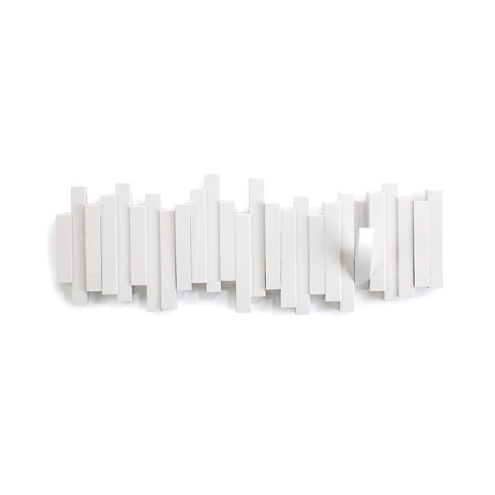 Umbra   STICKS 琴鍵造型牆上掛勾-白