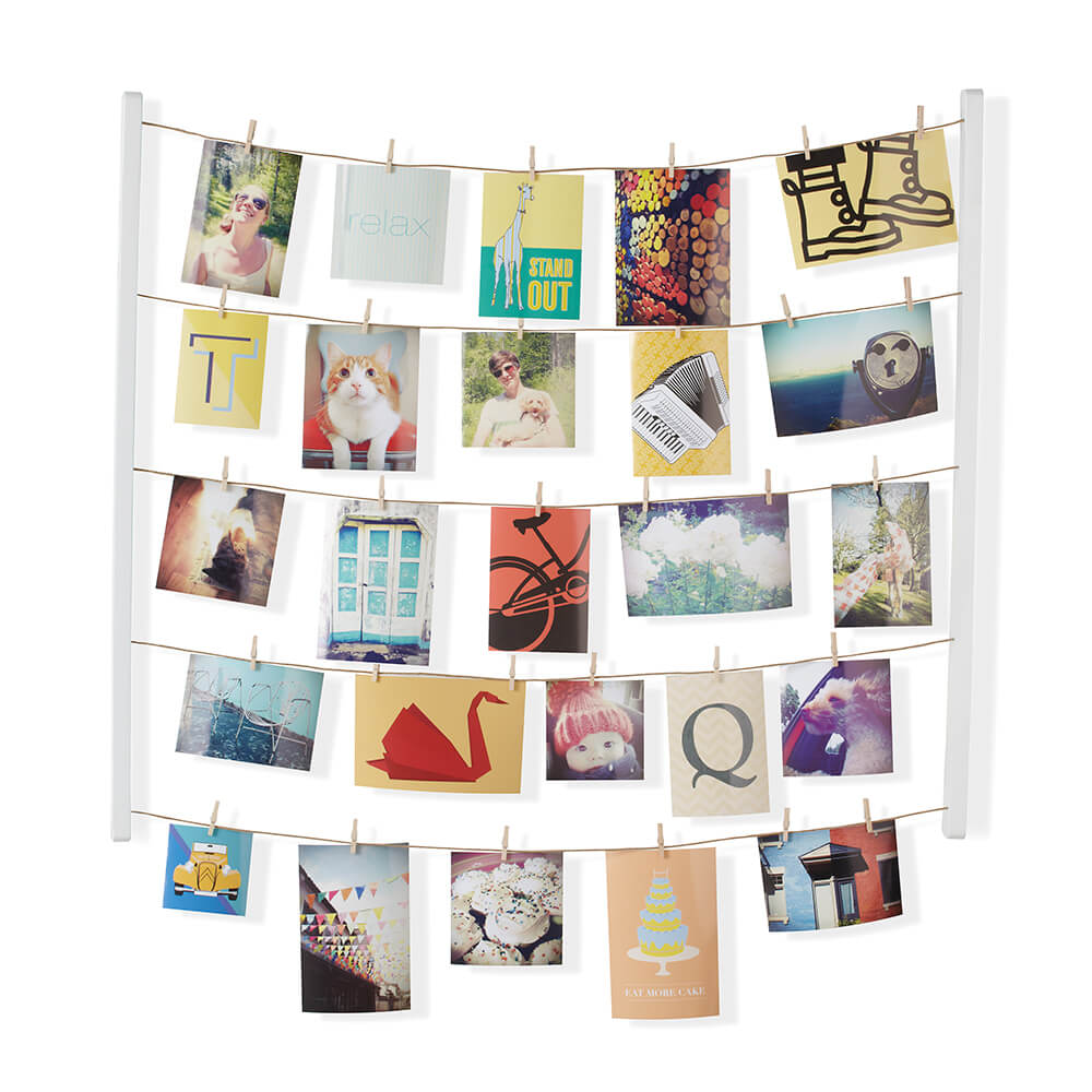 Umbra | HANGIT 衣夾式照片牆相框 白