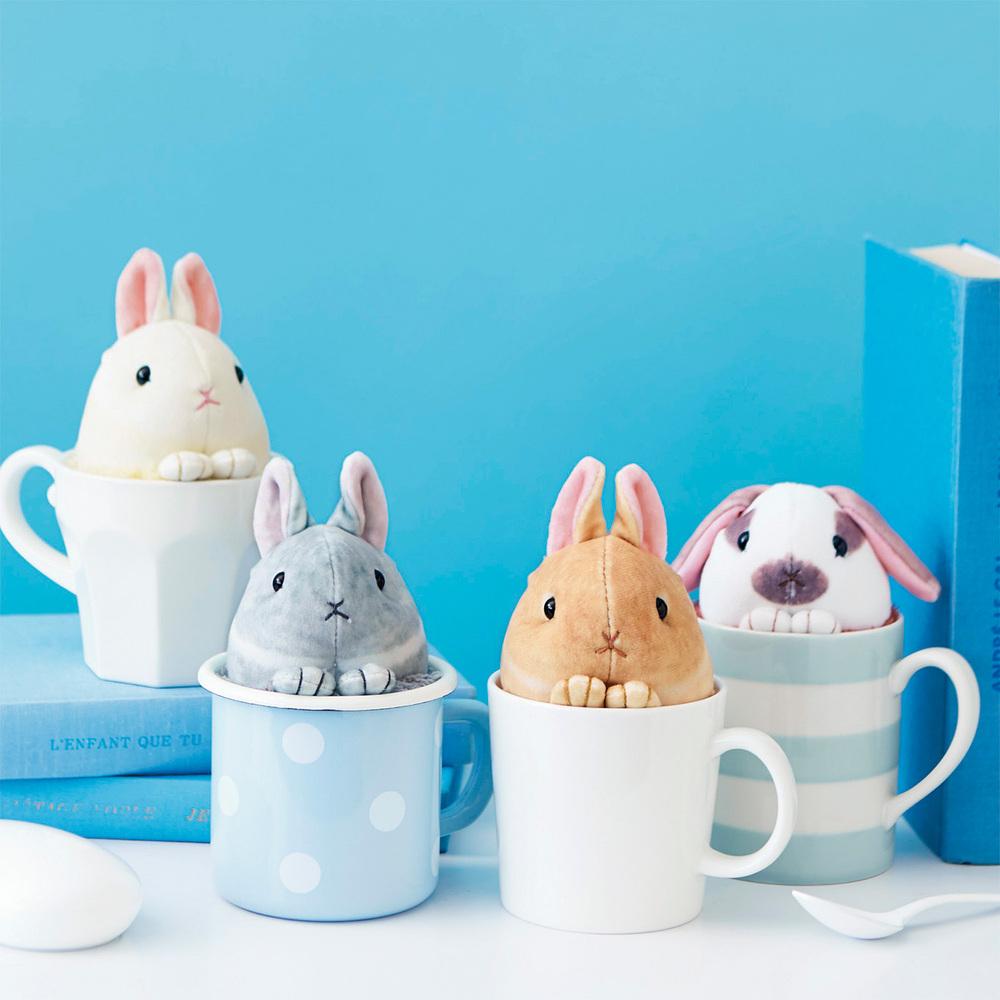 Felissimo | YOU+MORE!茶杯兔兔清潔墊