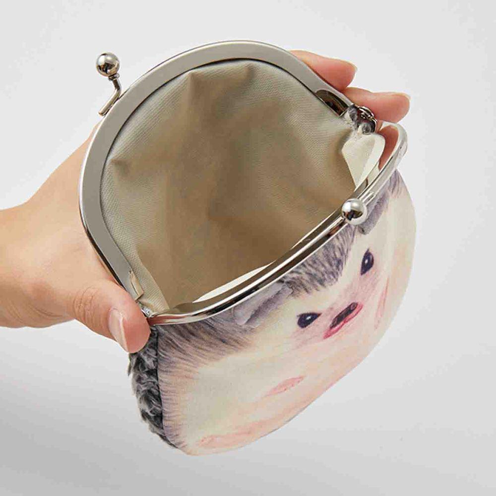 Felissimo | YOU+MORE!刺蝟化妝包/零錢包