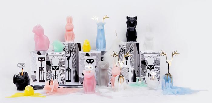【預購】PyroPet | 動物骨架蠟燭-兔子HOPPA