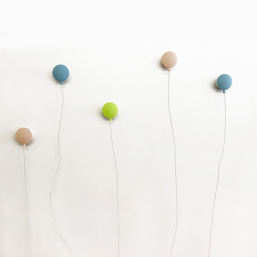 Rcube Design | 氣球造型充電器 (灰藍/暗粉紅)