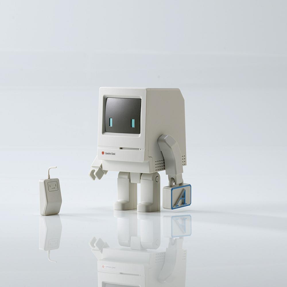 【兩入組】Playsometoys | 經典電腦機器人與垃圾桶&小伙伴公仔組