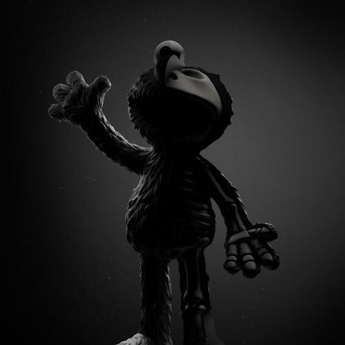 【集購】XXRAY | 原廠限定 芝麻街暗黑Elmo半剖授權公仔(21.5公分)