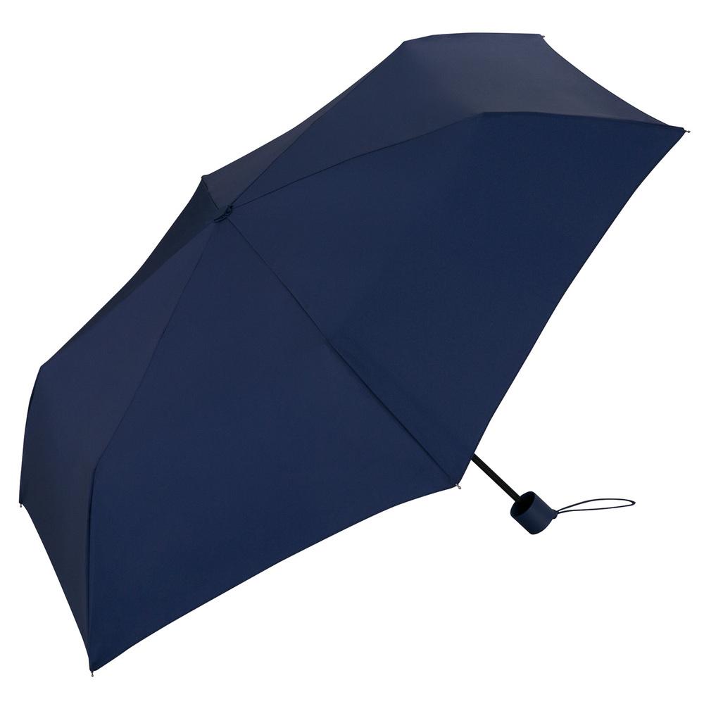 日本Unnurella | 不濕抗UV 晴雨摺疊傘-海軍藍